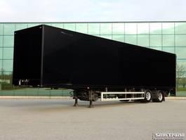 closed box semi trailer HTF HZO 32 2007