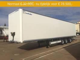 closed box semi trailer LeciTrailer Box-oplegger 3-asser Gesloten bak 2020