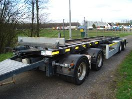 container chassis trailer Vogelzang VA-13,4-13,4-C/80 cm container hoogte/755 container 2008