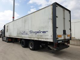closed box semi trailer Fruehauf ED32P 1990