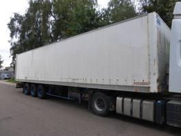 closed box semi trailer Fruehauf TF34V1,3RB 1993
