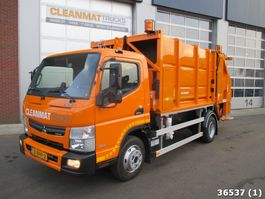 garbage truck Fuso Canter 9C15 Geesink 7m3 2016