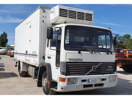 refrigerated truck Volvo FL6 - 14 Thermo King Cold Engine 1991