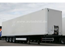 closed box semi trailer Krone SD 27 Dry Liner Koffer mit Rolltor 2008