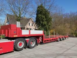 lowloader semi trailer Lintrailers 3 LSDU 18-24   82CM!   6,5M TELE  TOPSTAAT! 2009