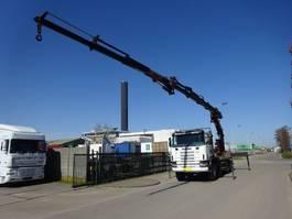 crane truck Scania 124 L 470 8 X 4 + PALFINGER PK 36002 + JIB !! 2003