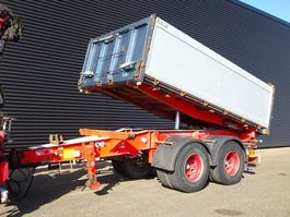tipper trailer Kel-Berg D18-2 / 3 SIDE TIPPER / BPW AXLE 2007