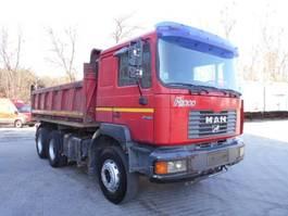 tipper truck > 7.5 t MAN F2000 26.364, 6X4 Dreiseitenkipper 1999