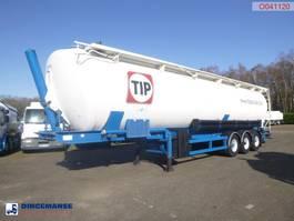 tank semi trailer semi trailer Spitzer Powder tank alu 65 m3 (tipping) 2005