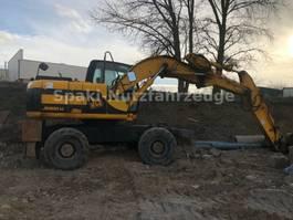 wheeled excavator JCB JS130W/ 3 Buckets / Schnellwechsler 1999