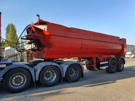 tipper semi trailer Kaiser Kipper 28cub 2000