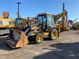 backhoe loader Caterpillar 428 D 4x4 2005