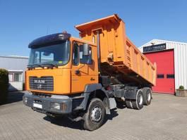 tipper truck > 7.5 t MAN 33.364 DFAK 6x6 Manual 2001