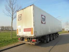 návěs s uzavřenou skříní Schmitz Cargobull 3-as box / 2,5 ton laadklep / NIEUWE APK! 2008
