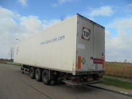 návěs s uzavřenou skříní Schmitz Cargobull 3-as box / 2,5 ton laadklep / NIEUWE APK 2008