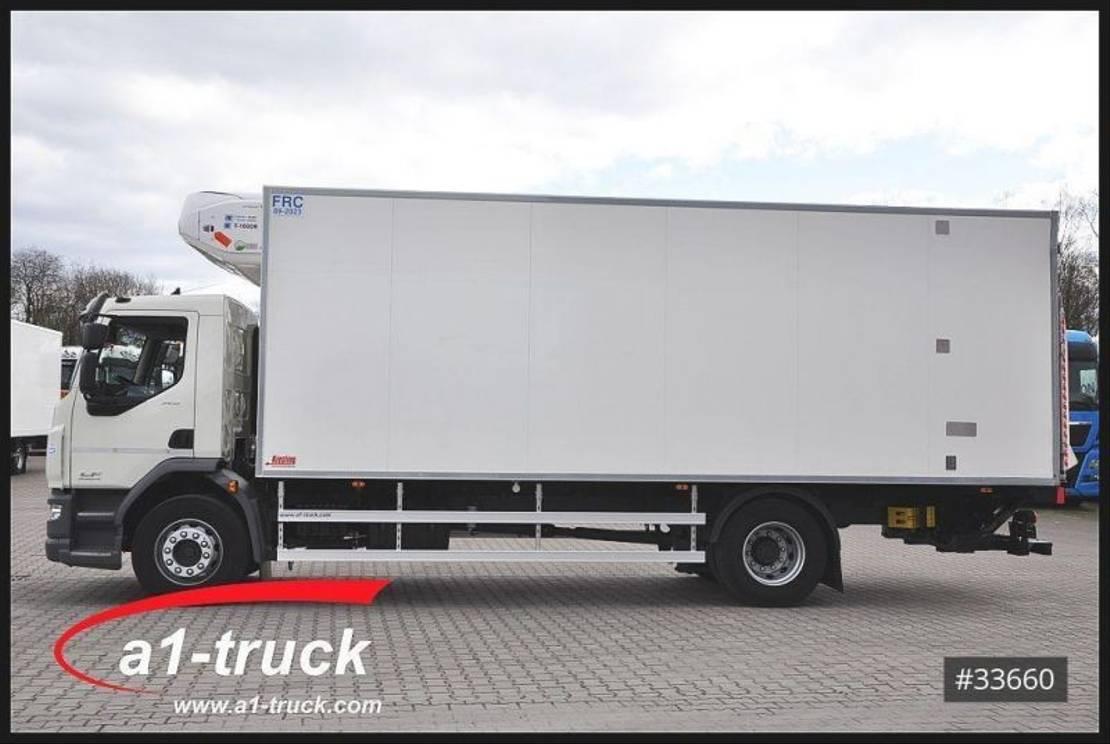 refrigerated truck DAF LF 320 FA, 18 t, Nutzlast 10110 kg, Türen+LBW Kiesling 2017