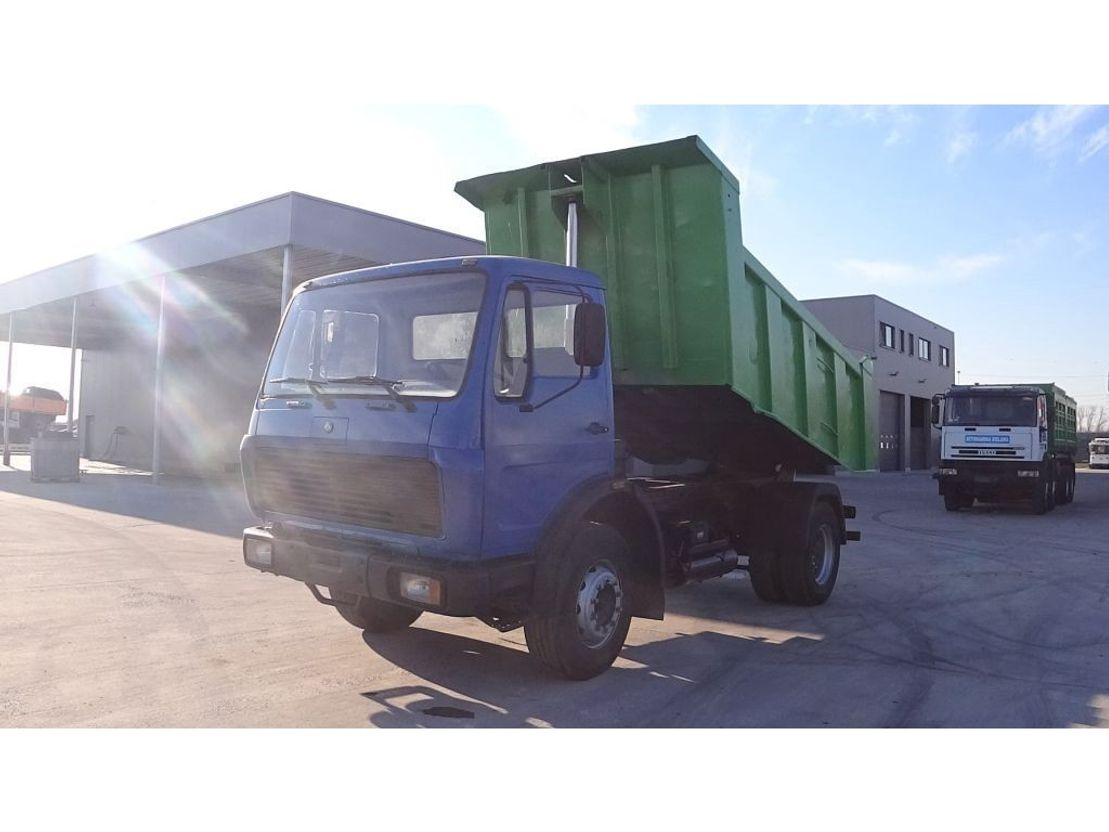 tipper truck > 7.5 t Mercedes Benz SK 1624 (FULL STEEL/ V6/ BIG AXLE) 1990