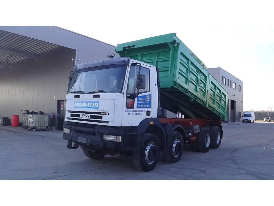 tipper truck > 7.5 t Iveco Eurotrakker 340 E 34 (FULL STEEL/ MANUAL GEARBOX) 1997