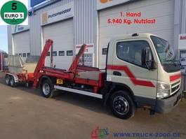 swap body truck Mitsubishi Canter Tele 3,29t. Nutzlast +Anhänger aus 1.Hand 2011