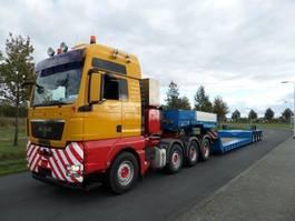 lowloader semi trailer Goldhofer STZ-VL4-43/80A 2009