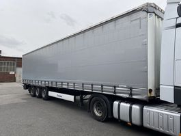 sliding curtain semi trailer Krone SD, EDSCHA, Krone Achse, Liftachse, TOP 2016