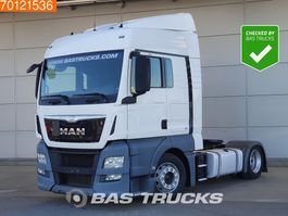 ciągnik siodłowy mega pojemny MAN TGX 18.440 4X2 XLX Mega Intarder 2x Tanks Euro 6 2015