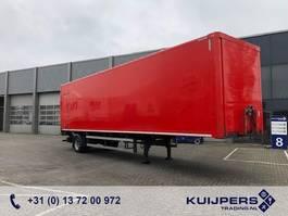 closed box semi trailer System Trailer Citytrailer / 1 Axle / Loadlift / APK-TUV 2010