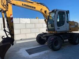 wheeled excavator Liebherr A314 2007
