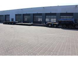 lowloader semi trailer Goldhofer 2 bed 4 PENDEL assen Uitschuifbare dieplader met extra afneembare nek 2000