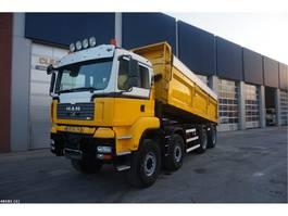 tipper truck > 7.5 t MAN TGA 41.440 8x8 Vossebelt 19m3 2007