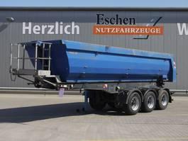 tipper semi trailer Meiller 27m³ Stahl, Luft/Lift, BPW 2010