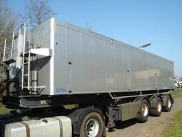 tipper semi trailer Bulthuis TATA23/50 CUB/STUURAS/LIFTAS 2005