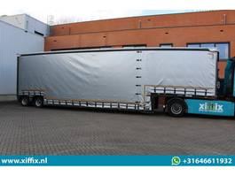 Tieflader Auflieger Meusburger TE HUUR: 2-ass. Dieplader met huifopbouw // Verbreedbaar // 2x gestuurd 2020
