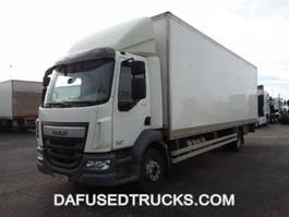 closed box truck > 7.5 t DAF FA LF280I16 2015