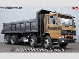 tipper truck > 7.5 t Volvo FL10 340 // 8x4 1993
