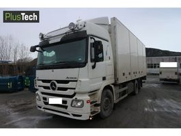 closed box truck > 7.5 t Mercedes Benz Actros 2551 2009