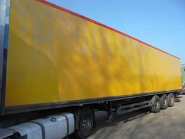closed box semi trailer Kögel S***24 Laadklep 2007