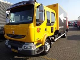 closed box truck > 7.5 t Renault MIDLUM 220 DCI + Manual + LIFT Dhollandia 2006