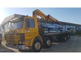 swap body truck Scania 113H 360 20TONS CRANE