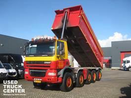 tipper truck > 7.5 t Ginaf X 5450 S 10X8 410 PK EURO 5 2009
