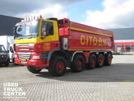tipper truck > 7.5 t Ginaf X 5450 S 10x8 510 pk kipper / dump 2009