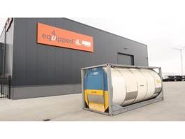 tank container Van Hool 25.000L TC, 2 comp.(12.500L/12.500L), UN PORTABLE, T11, valid 2.5y insp... 1995