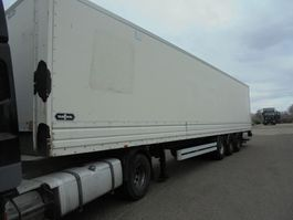 closed box semi trailer Van Hool 3B0076 Laadklep 2007