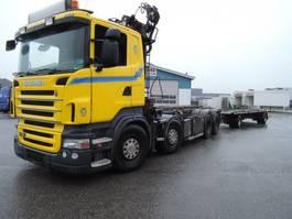 tipper truck > 7.5 t Scania SCANIA R480 8X2 R480 2020
