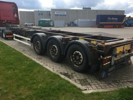 container chassis trailer Schmitz Cargobull Multi Container Chassis Gotha 2002