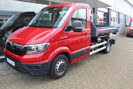 camion portacontainer MAN TGE 5.180 Haakarm met container 2018