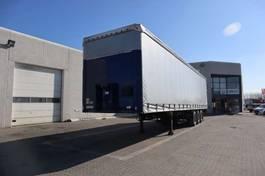 sliding curtain semi trailer Schmitz Cargobull 34 pl. med lift 2010