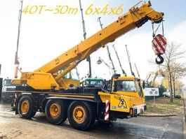 crane truck Liebherr LTM 1040 6x4x6 - 40 Tons / 30m - MOBIELE KRAANWAGEN / ALL TERRAIN CRANE ... 1991