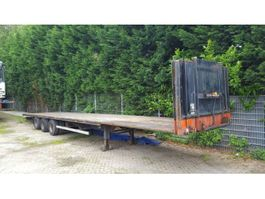 Plattformauflieger Hoffmann platte trailer