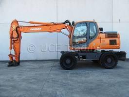 wheeled excavator Doosan DX170W 2010